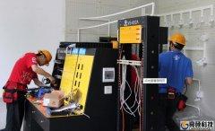 天河南梅S公司80台电脑综合布线工程亮硕公司快速完成